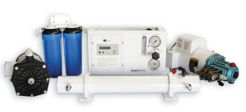 High Pressure Pump and Booster Pump Combined Amp Draw: