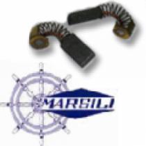 MARSILI MOTOR BRUSH - AC12  MOTOR - 125W - MP56L (2 PER MOTOR)