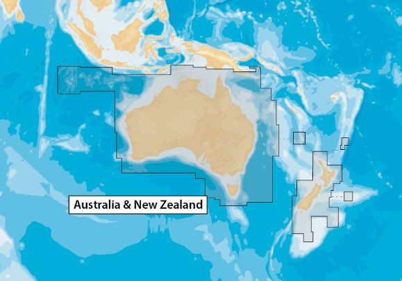 NAVIONICS CF CARD ONLY PLUS AUSTRALIA & NEW ZEALAND ONLY