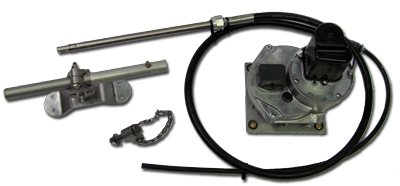 MECH DRIVE TYPE RS WITH RFB & SAILBOAT STEERING CABLE + UNIVERSAL CONNECT
