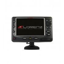 """LORENZ 8"""" WIDE SCREEN VIDEO INPUT GPS PLOTTER WITH EXTERNAL GPS"""